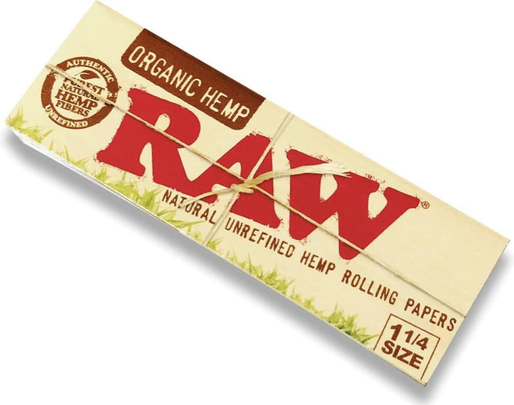 Outontrip RAW ORGANIC King Size Slim 32 leaves Rolling Papers - SoBe Hookah