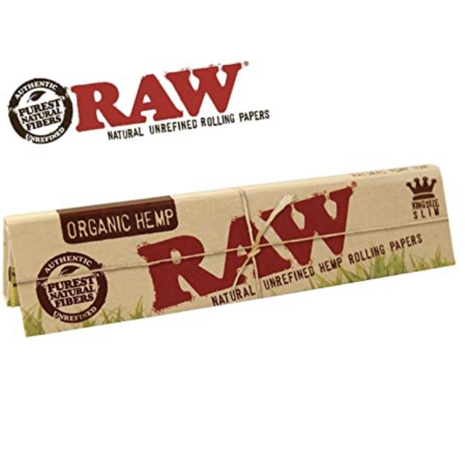 Outontrip RAW ORGANIC King Size Slim 32 leaves Rolling Papers