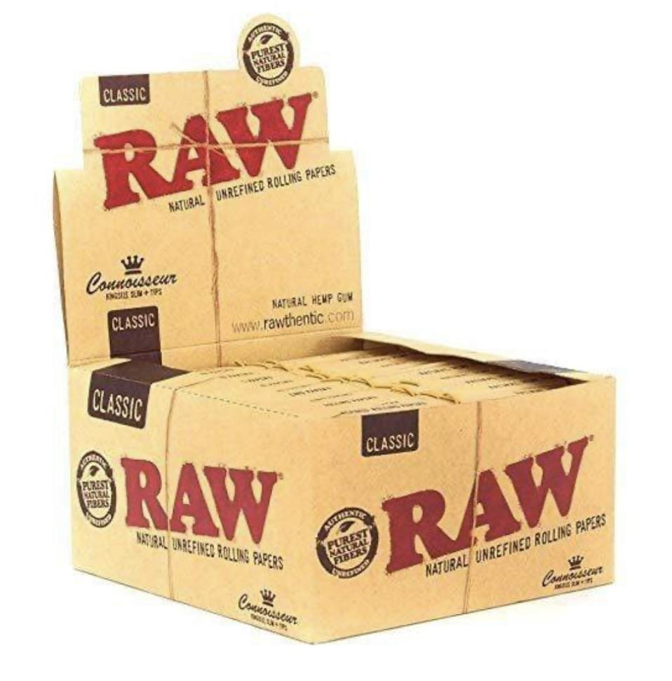 RAW CONNOISSEUR KING SIZE SLIM W/ TIPS - SoBe Hookah