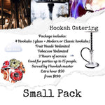 Small Hookah Catering Package