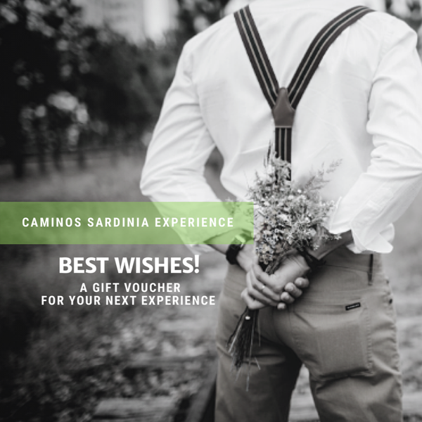 Gift Voucher Best Wishes - Caminos Sardinia Experience