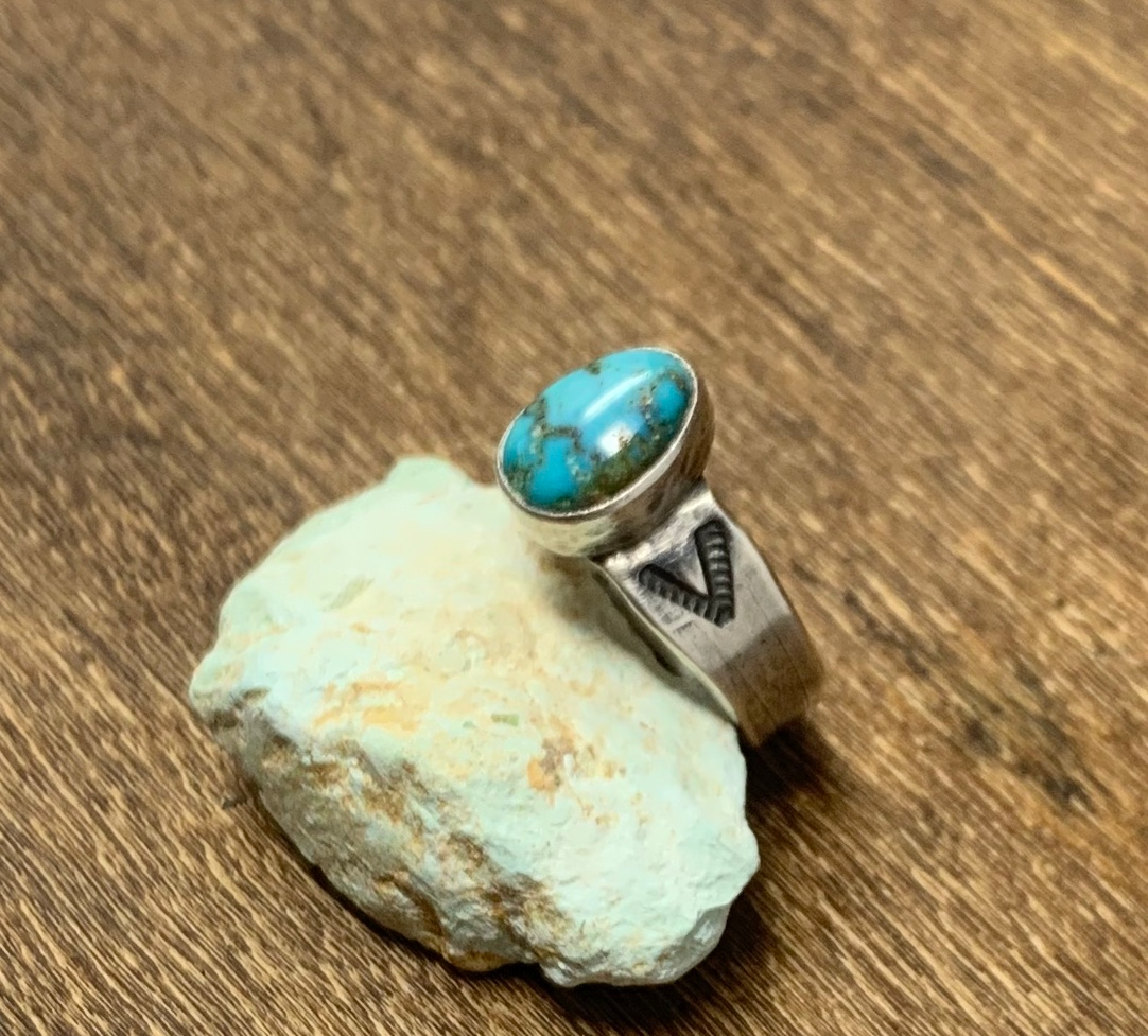 Cheyenne Turquoise Ring