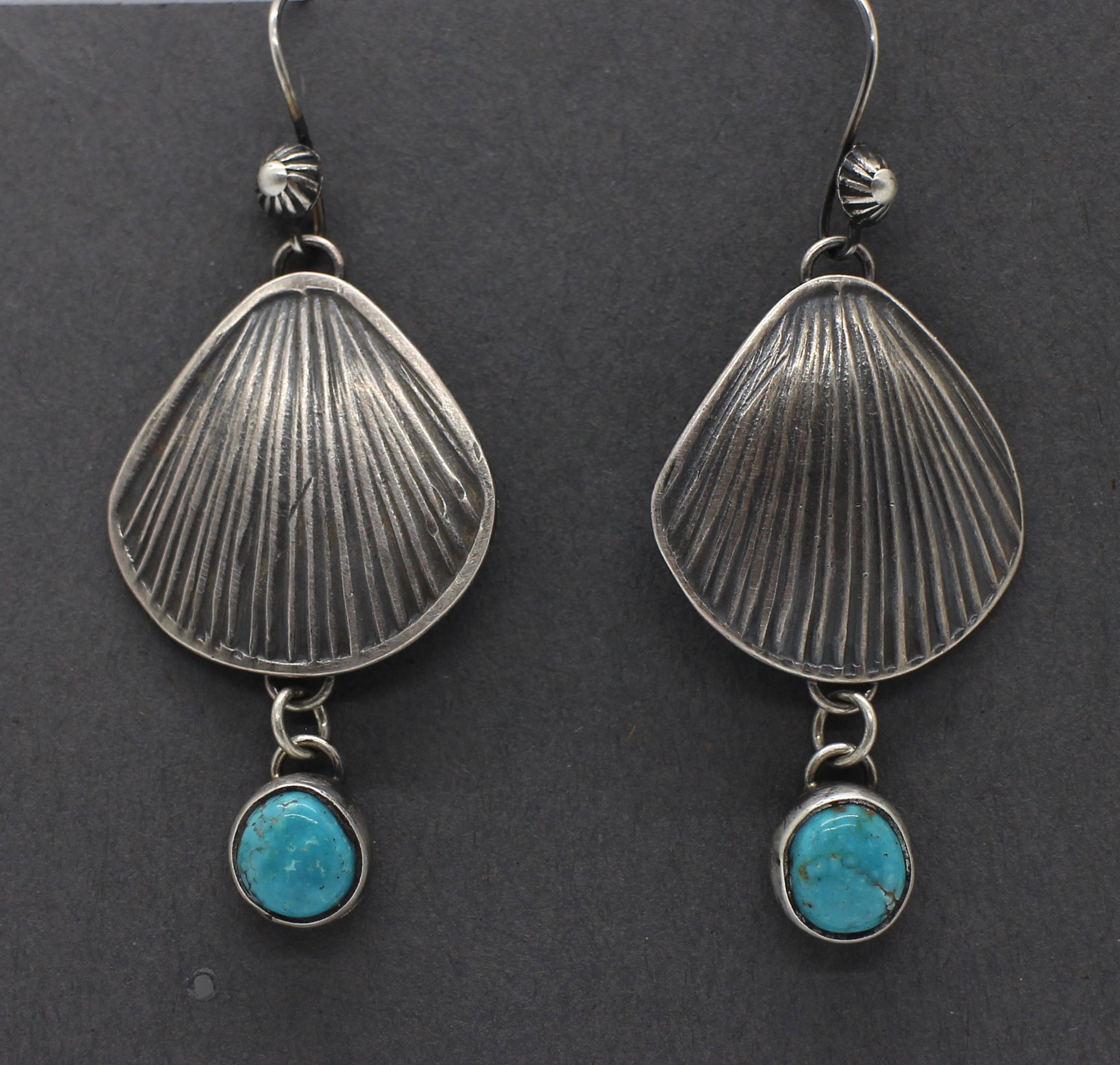Jesse Robbins Silver and Stone Earrings