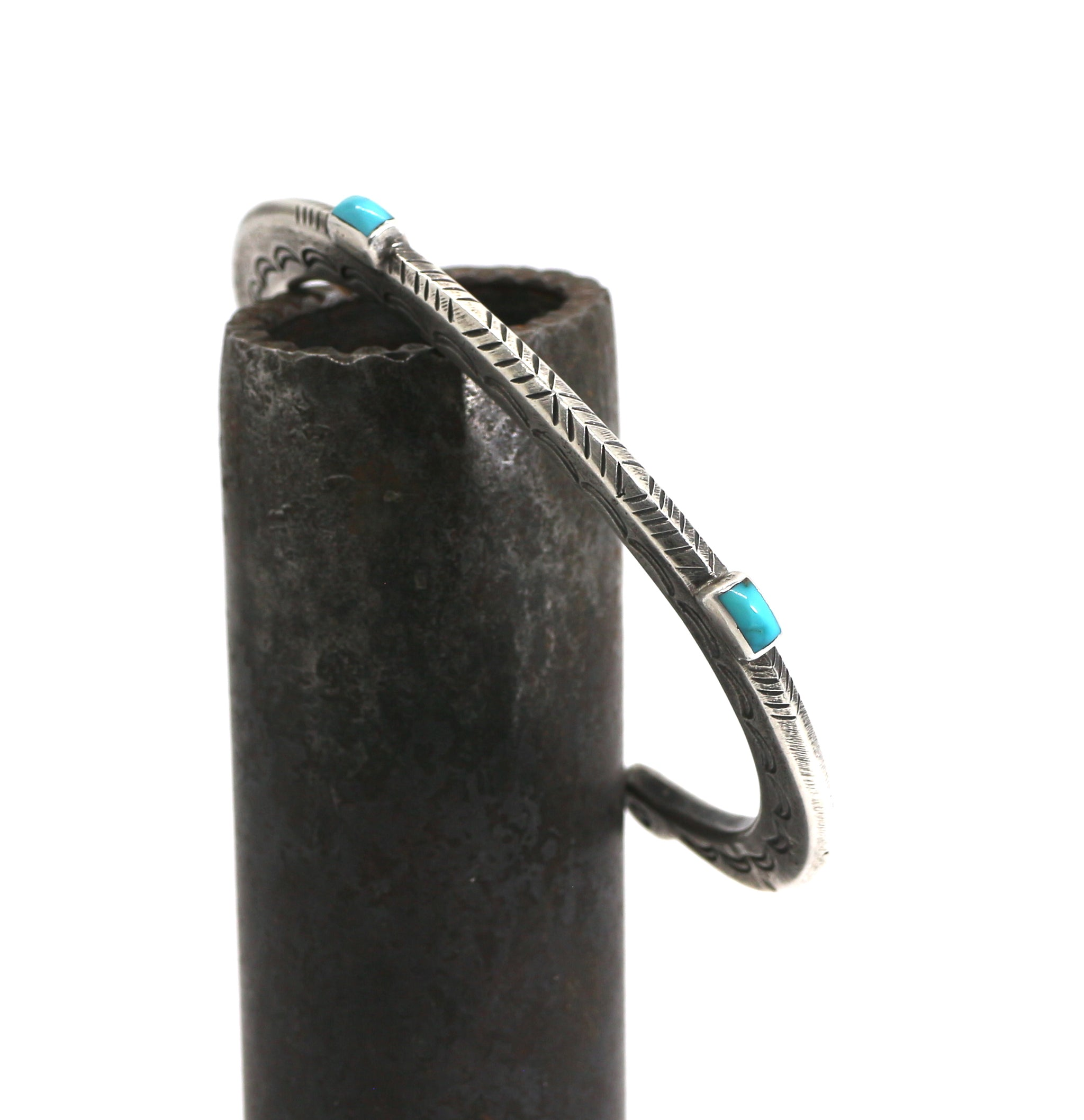 Jesse Robbins High Stack Bracelet with Cheyenne.