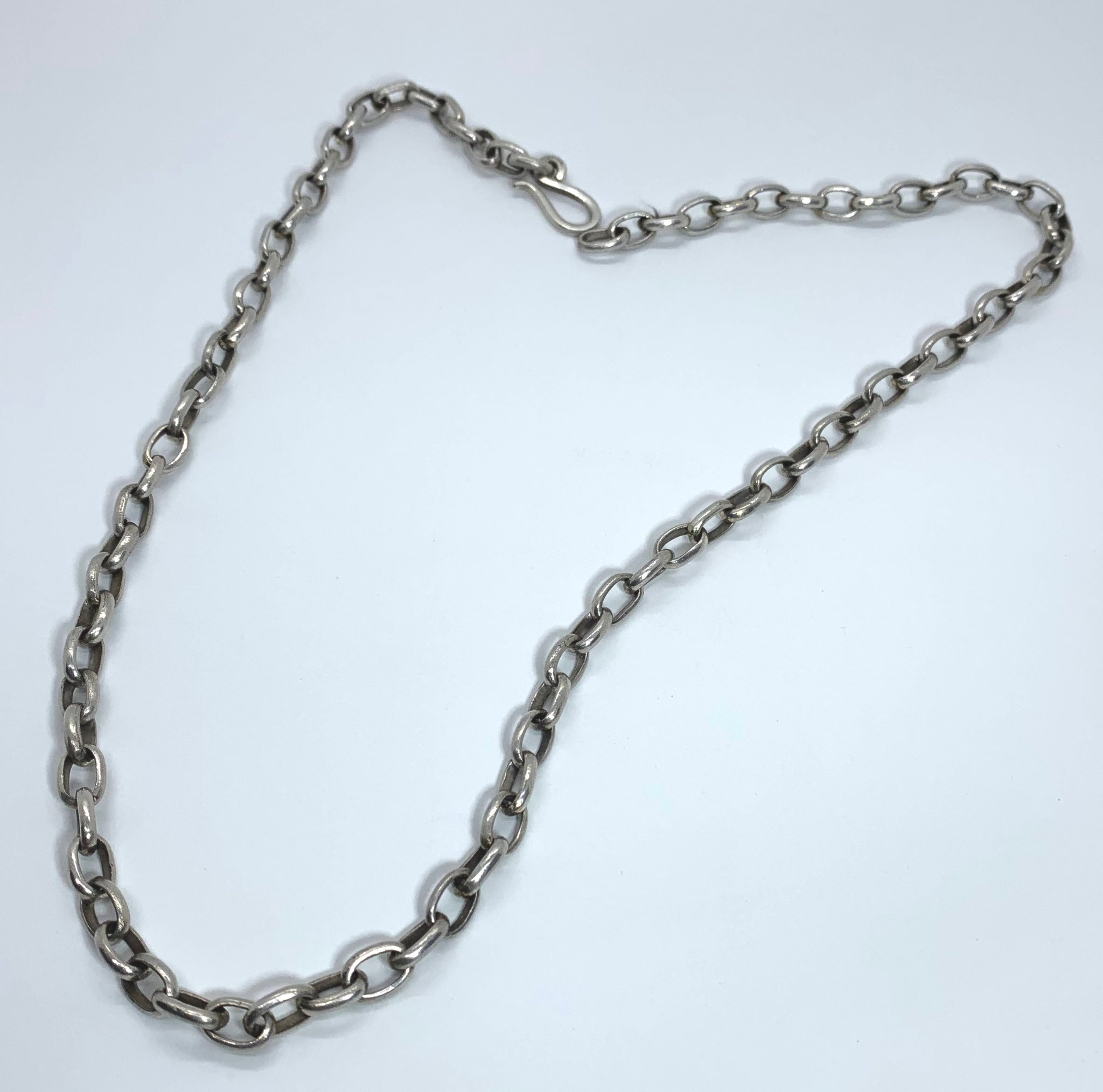 Hand made Sterling Chain.