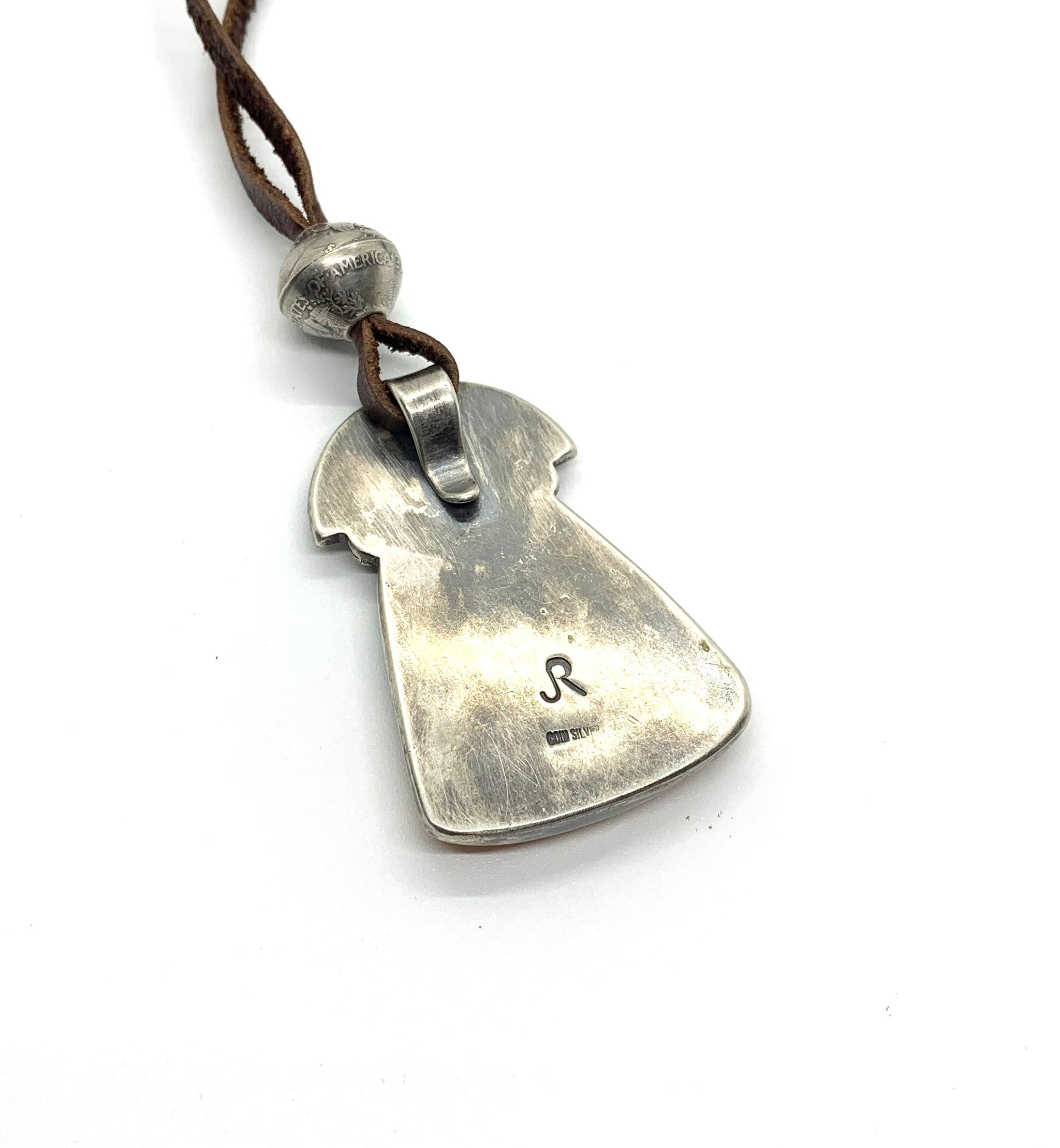 Jesse Robbins Pendant with Charlie Favour Shell Work