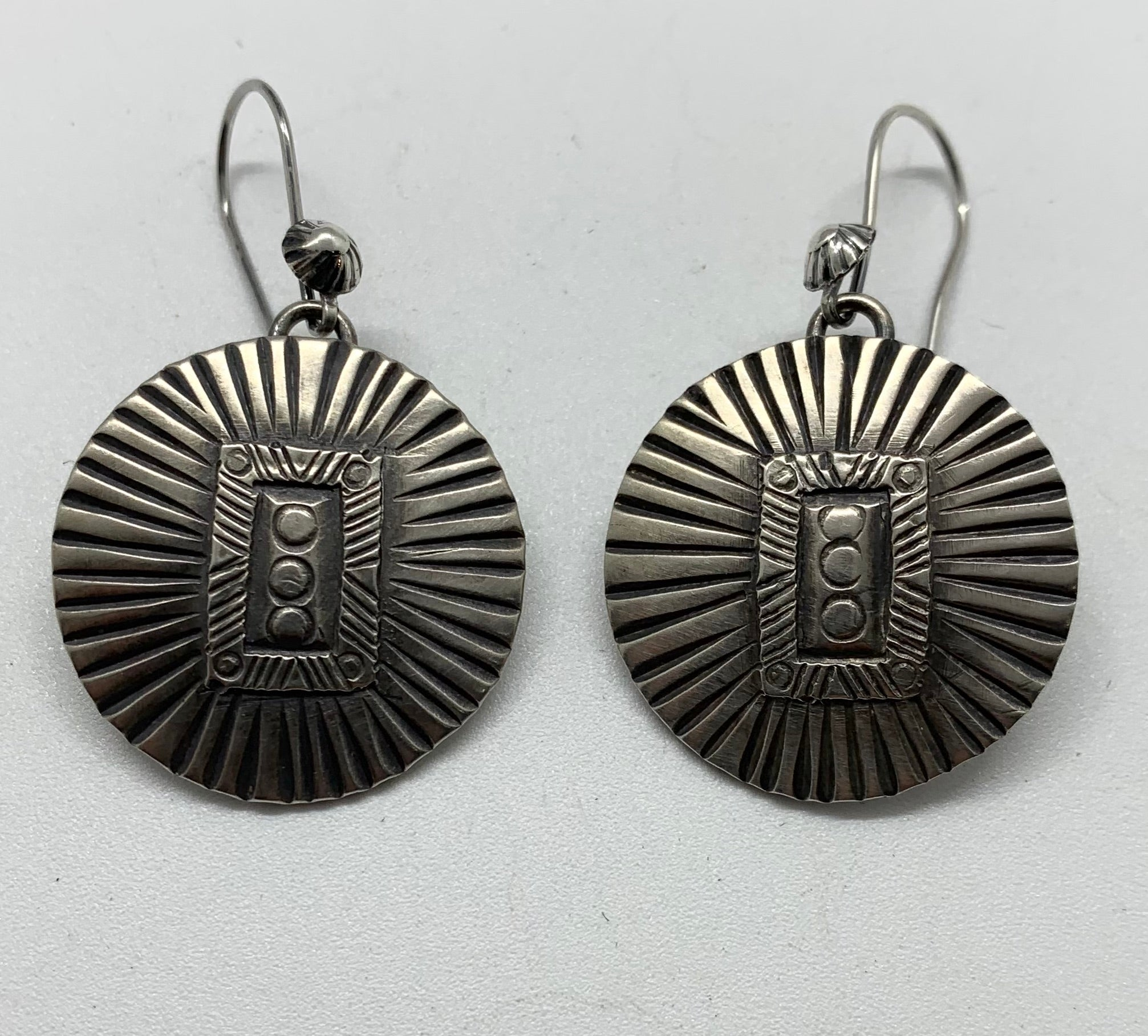 Jesse Robbins Barber Quarter Earrings