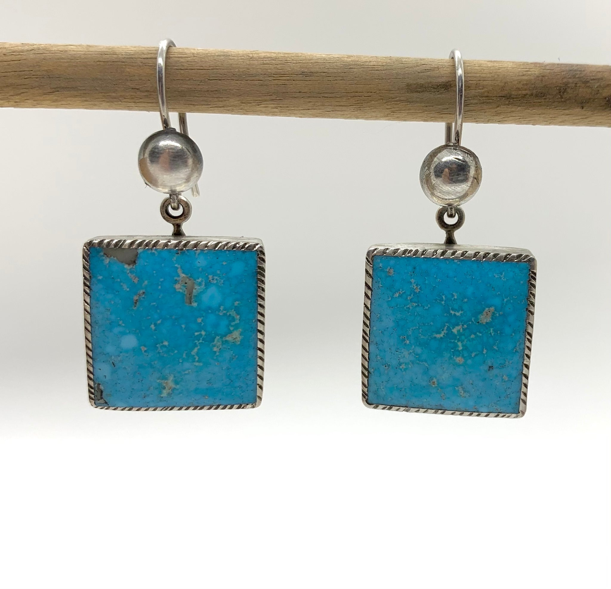 Jesse Robbins Turquoise Earrings