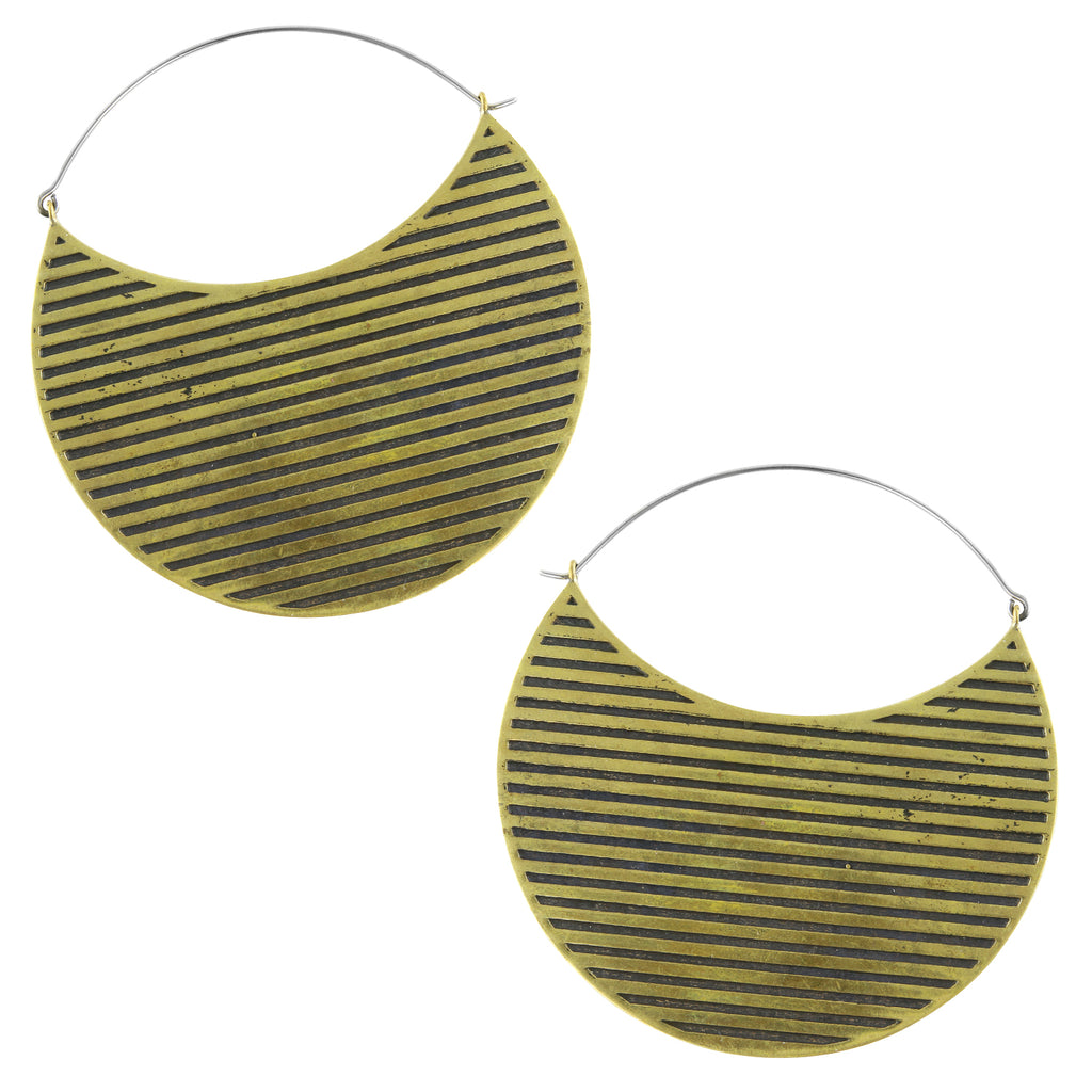 Alleyway Titanium Earrings