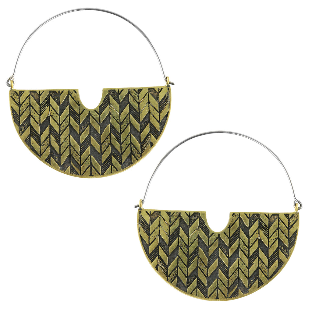 Herring Titanium Earrings