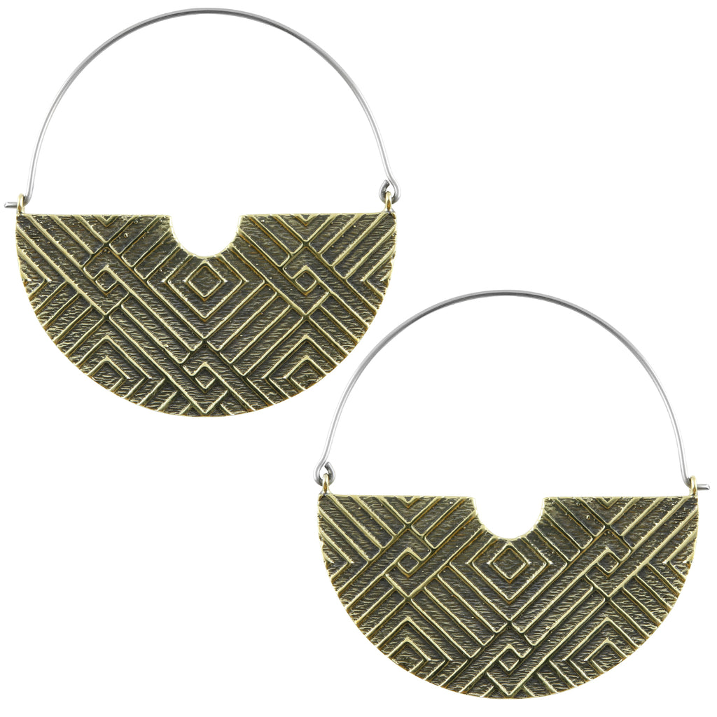 Freight Titanium Earrings