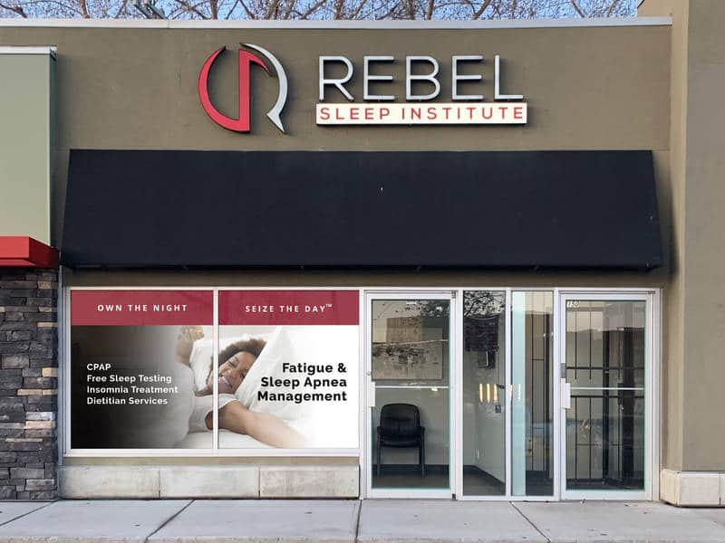 Rebel Sleep Institute storefront