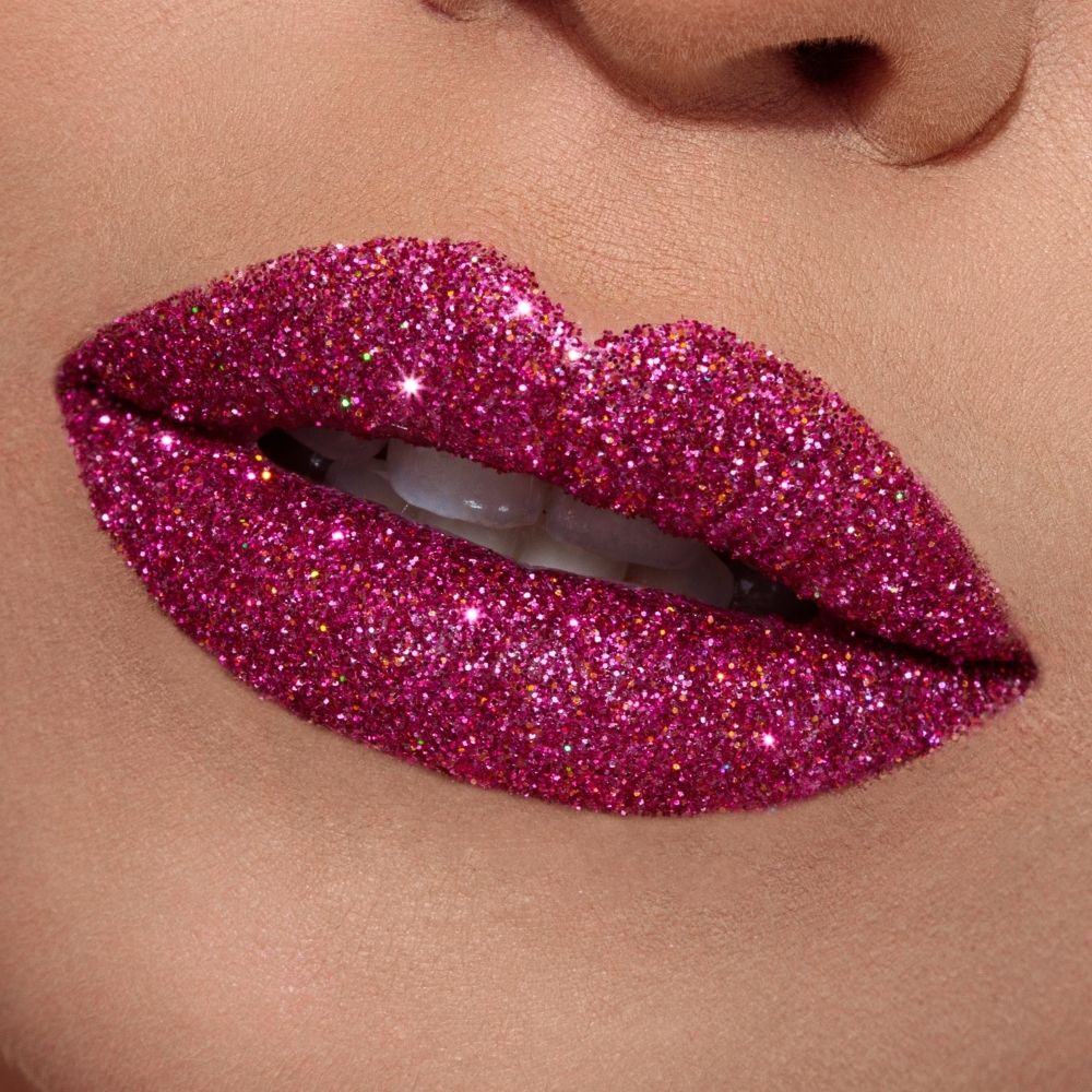Sparkling Rosé - Glitter Lips | Beauty BLVD