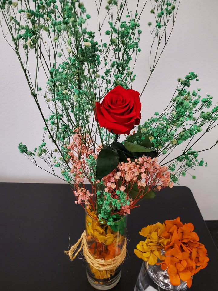 Real Long Lasting Luxury Rose Bouquet