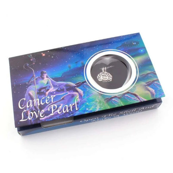 Cancer Zodiac Love Pearl Wish Box Gifts for Women gift for her authentic oyster pearl necklace christmas gift