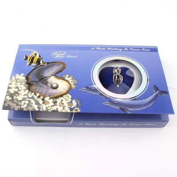 Sea Shell Love Pearl Wish Box Gifts for Women gift for her authentic oyster pearl necklace christmas gift