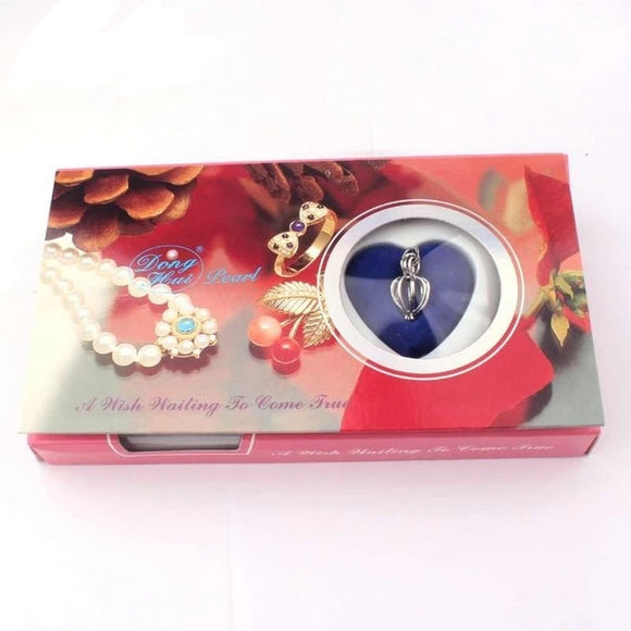 Love Pearl Wish Box Gifts for Women gift for her authentic oyster pearl necklace christmas gift