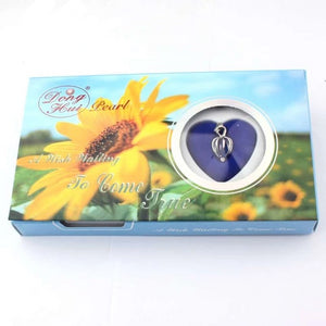 Sunflower Love Pearl Wish Box Gifts for Women gift for her authentic oyster pearl necklace christmas gift