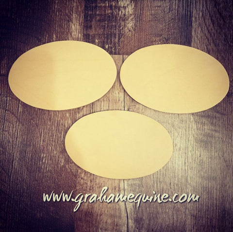 NEW... Oval blanks