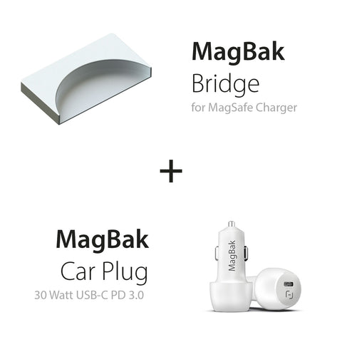 MagBak Bridge for MagSafe Charger
