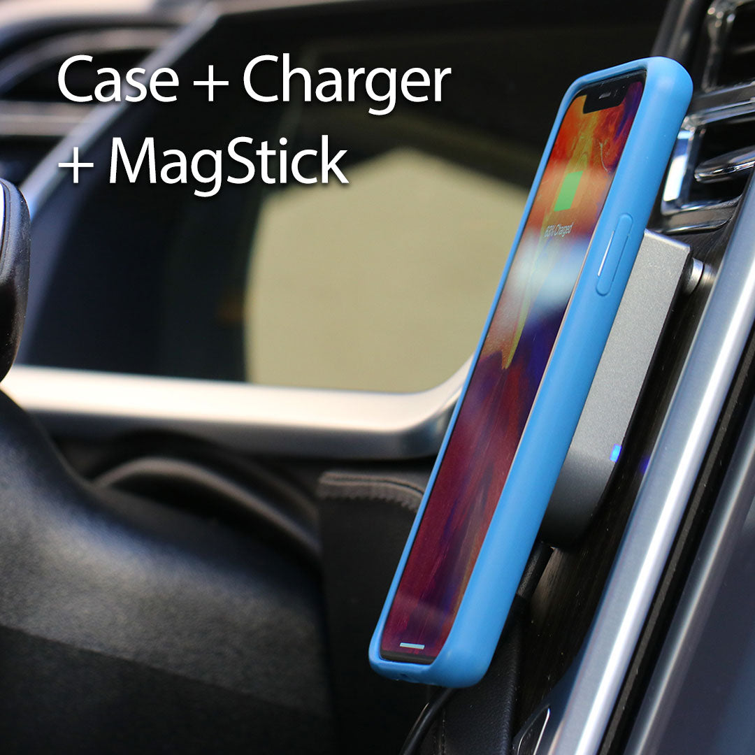 MagBak Wireless Charger - USB Car Adapter Included - SHIPS END OF MARCH