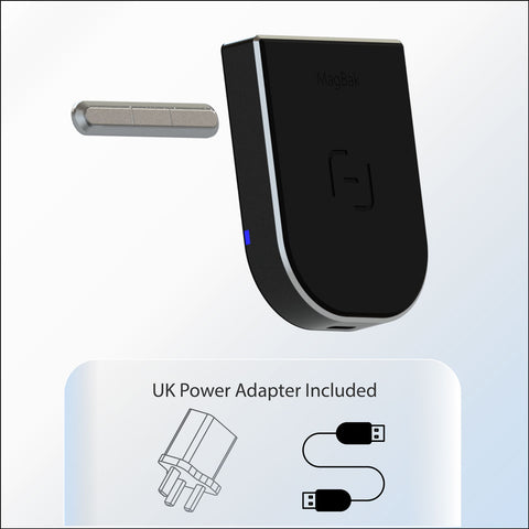 MagBak Wireless Charger - UK AC Adapter Included