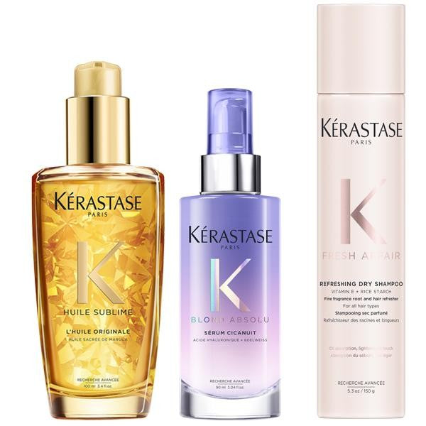 KÉRASTASE Blonde Day, Night and Next Day Hair Care Set