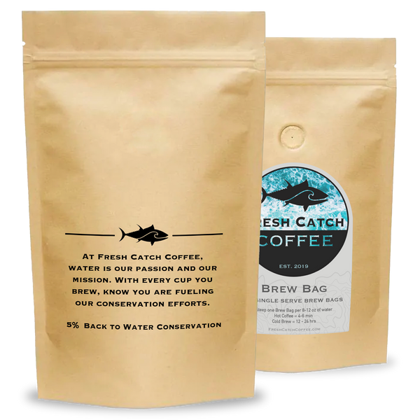 Fresh Catch Coffee Brew Bags