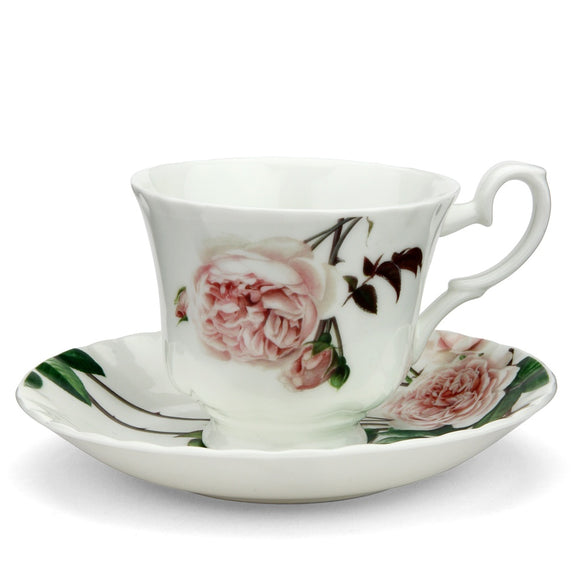 イングリッシュローズ ティーカップ&ソーサー - English Rose Tea Cup & Saucer - david-austin-roses-japan