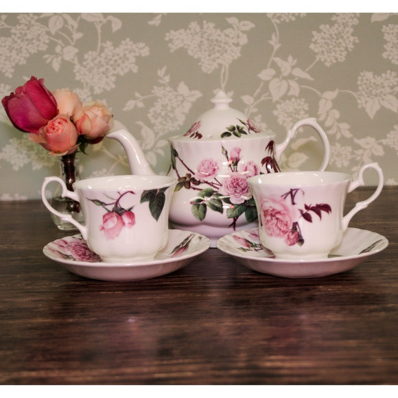 Tea Set for 2 - Tea Set for 2 - david-austin-roses-japan