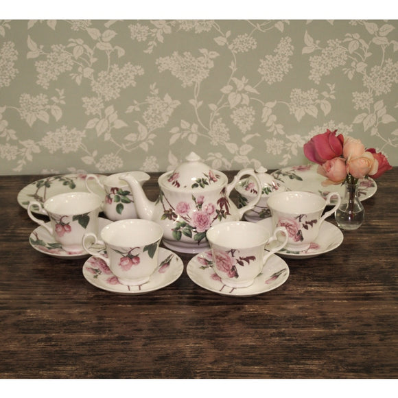 Tea Set for 4 - Tea Set for 4 - david-austin-roses-japan