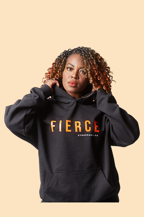 Sweat à capuche FIERCE - Unisexe