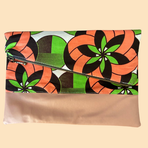 Fold Over Clutch - Lylie