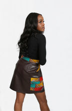 Load image into Gallery viewer, Faïza Pleather Skirt
