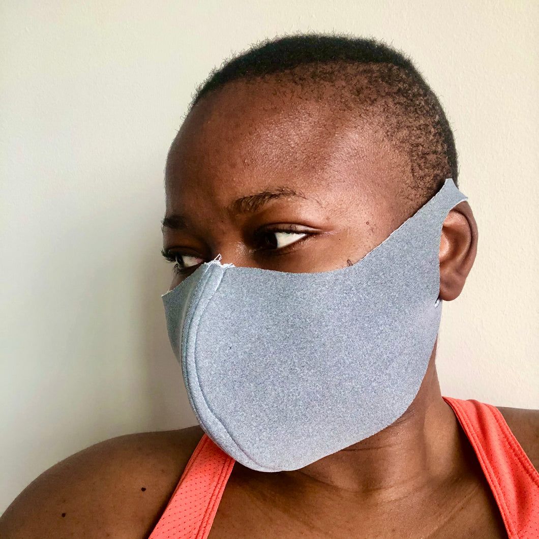Antibacterial Waterproof Face Mask - Adult size