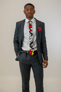 Luxury Men Tie Set in Red