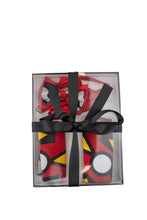 Load image into Gallery viewer, Luxury Men Tie Set in Red