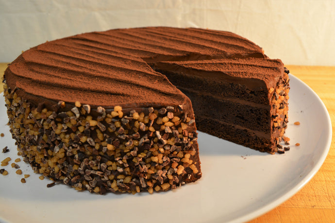 Chocolate Truffle Cake (slice)