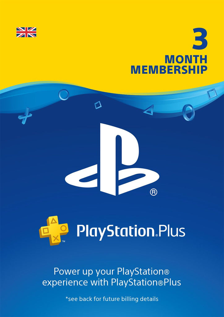 PS Plus 3 Months Subscription