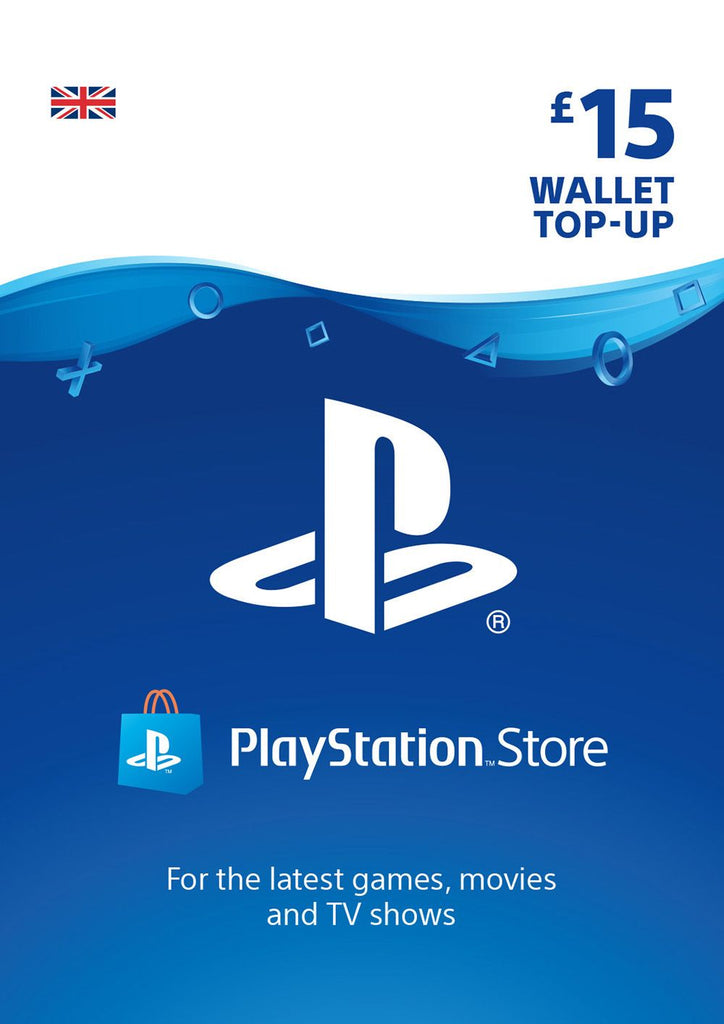 PSN £15.00 Wallet Top Up