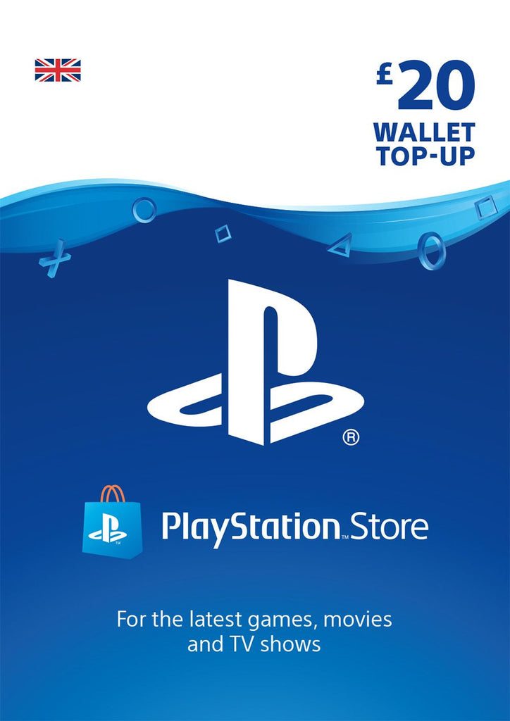 PSN £20.00 Wallet Top Up