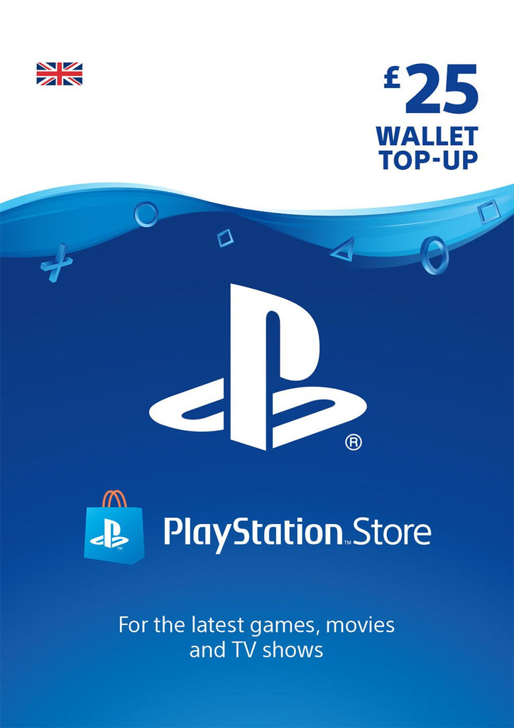 PSN £25.00 Wallet Top Up