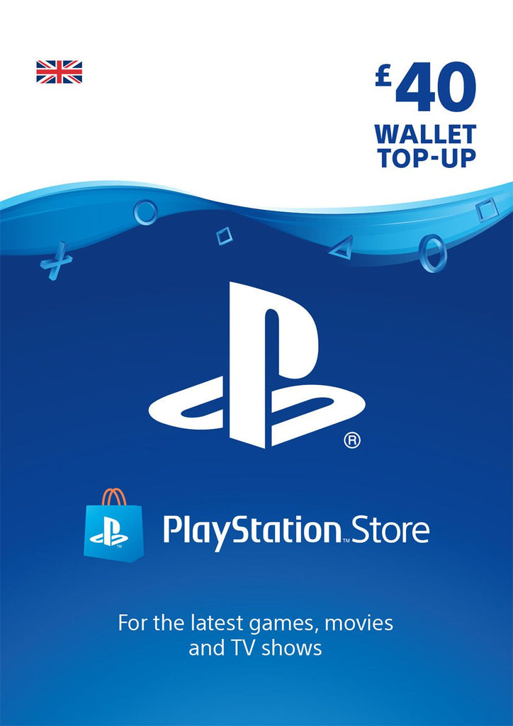 PSN £40.00 Wallet Top Up