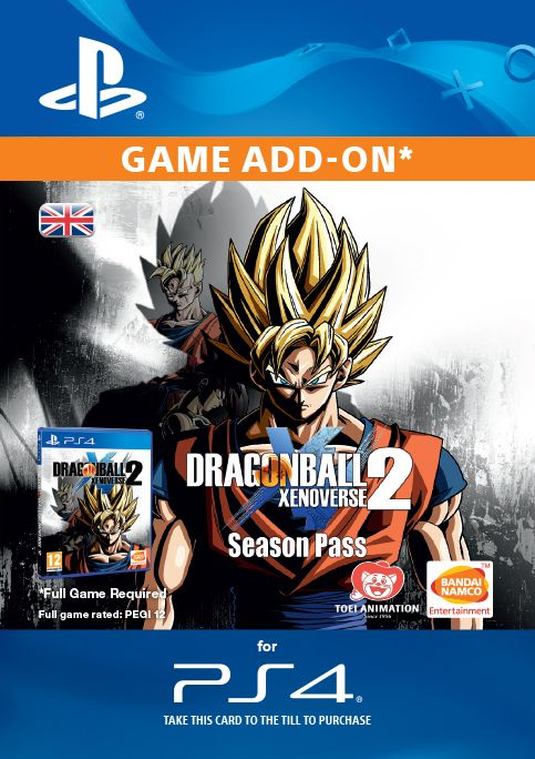 Dragon Ball Xenoverse 2 - Season Pass PS4
