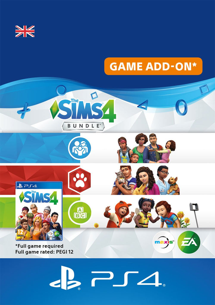 The Sims Bundle - Cats & Dogs, Parenthood, Toddler Stuff