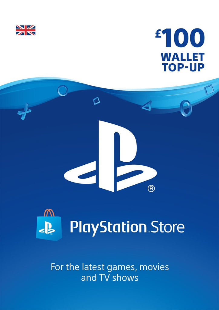 PSN £100.00 Wallet Top Up