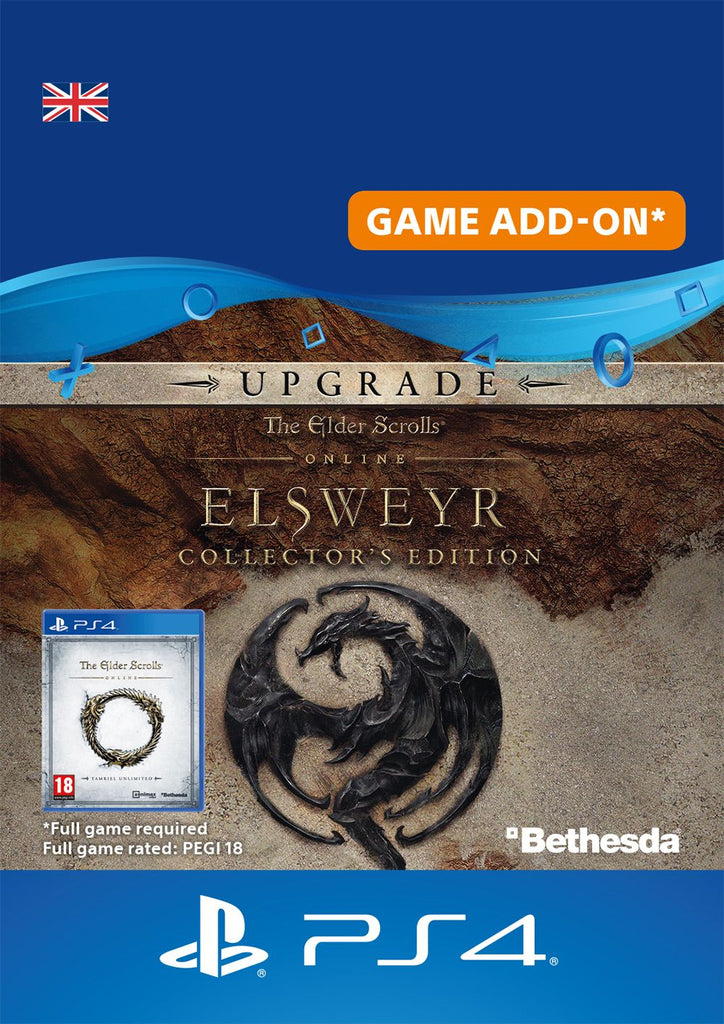 The Elder Scrolls Online Elsweyr Collector's Edition Upgrade