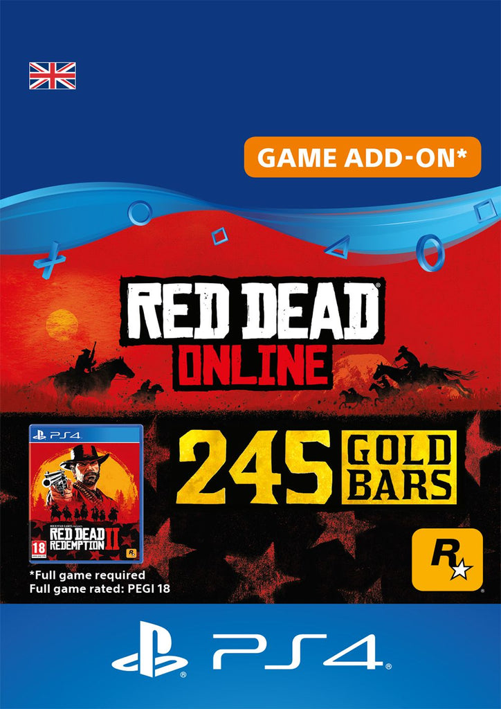 Red Dead Online Gold Bars 245