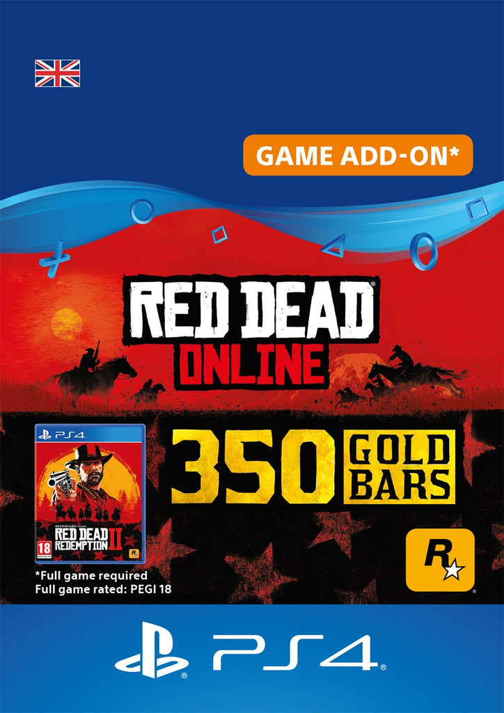 Red Dead Online Gold Bars 350