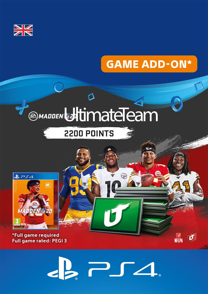 Madden NFL 20 2200 Madden Ultimate Team Points